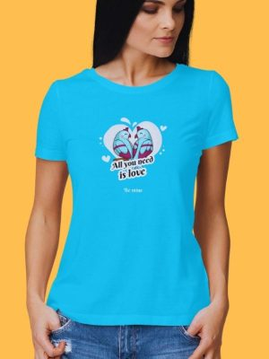 All You Need Is Love Round Neck Tshirt